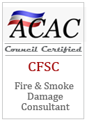 Fire and Smoke Damage Restoration Certification