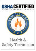 OSHA Health and Safety Technician Certification