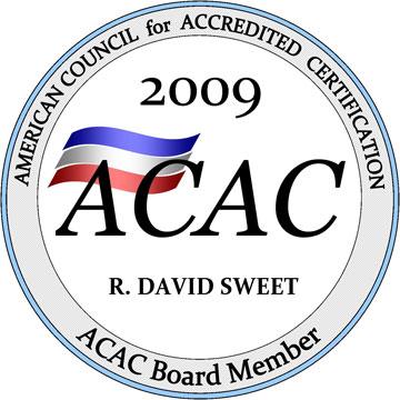 ACAC Board Member - 2009