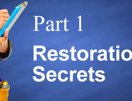 Does Your Restoration Company Work For You? Pt. 1