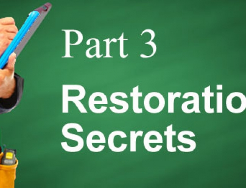 Does Your Restoration Company Work For You? Pt. 3