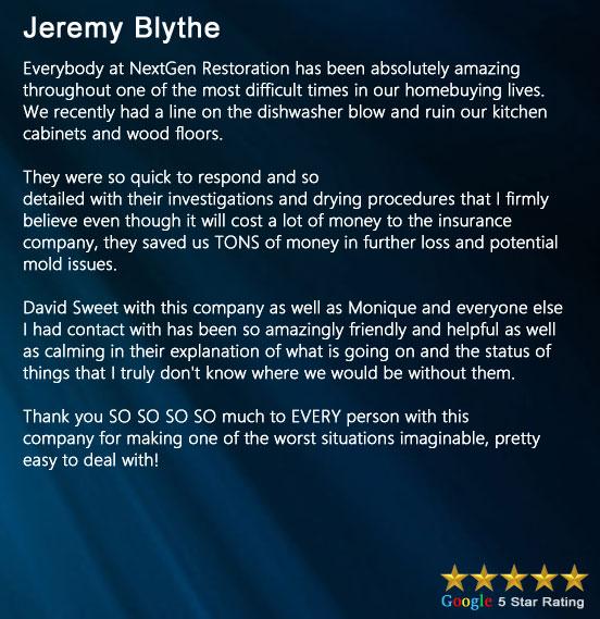 Review Jeremy Blythe