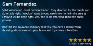 Review Sam Fernandez