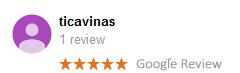 Ticavina Google Review