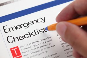 Water Damage Restoration Emergency Checklist