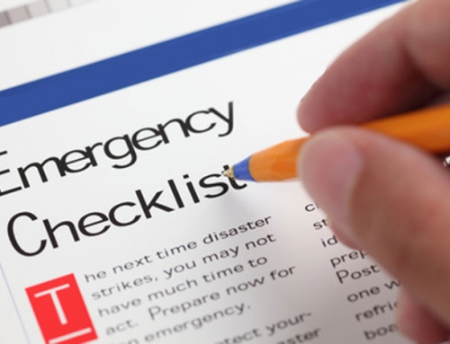 Emergency Restoration Checklist