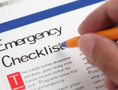 Emergency Restoration Checklist