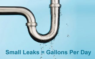 leaking pipe water damage cost