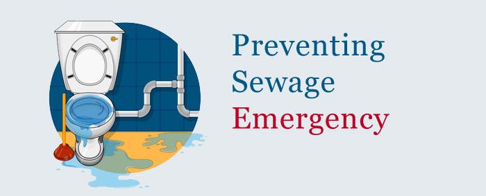 Preventing Sewage Emergency
