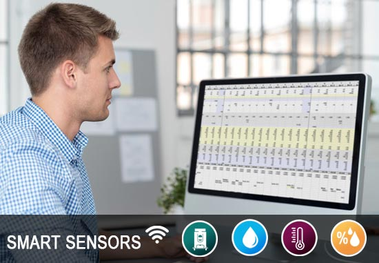 Smart Sensors Humidity, Moisture, Temperature, Equipment