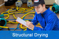 Structural Drying - Removing Moisture